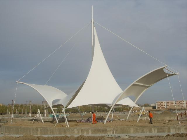 景观膜结构作用