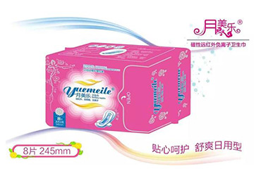 月美乐日用卫生巾