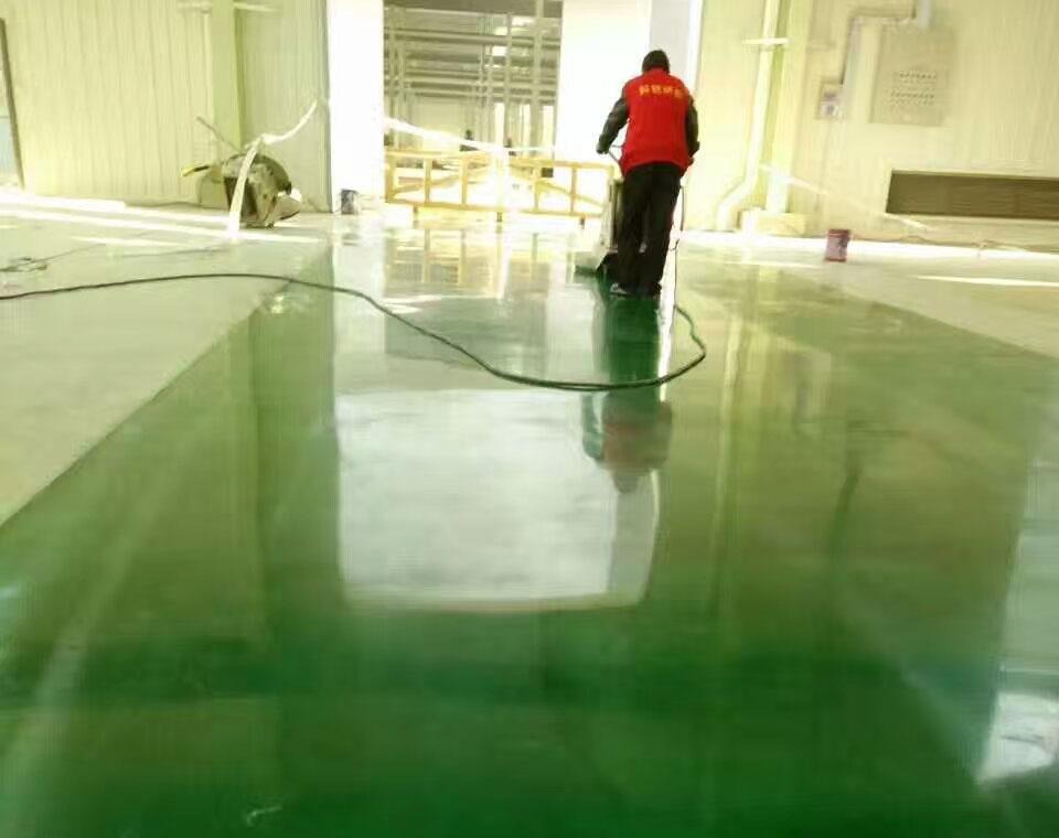 成都彩色密封固化地坪