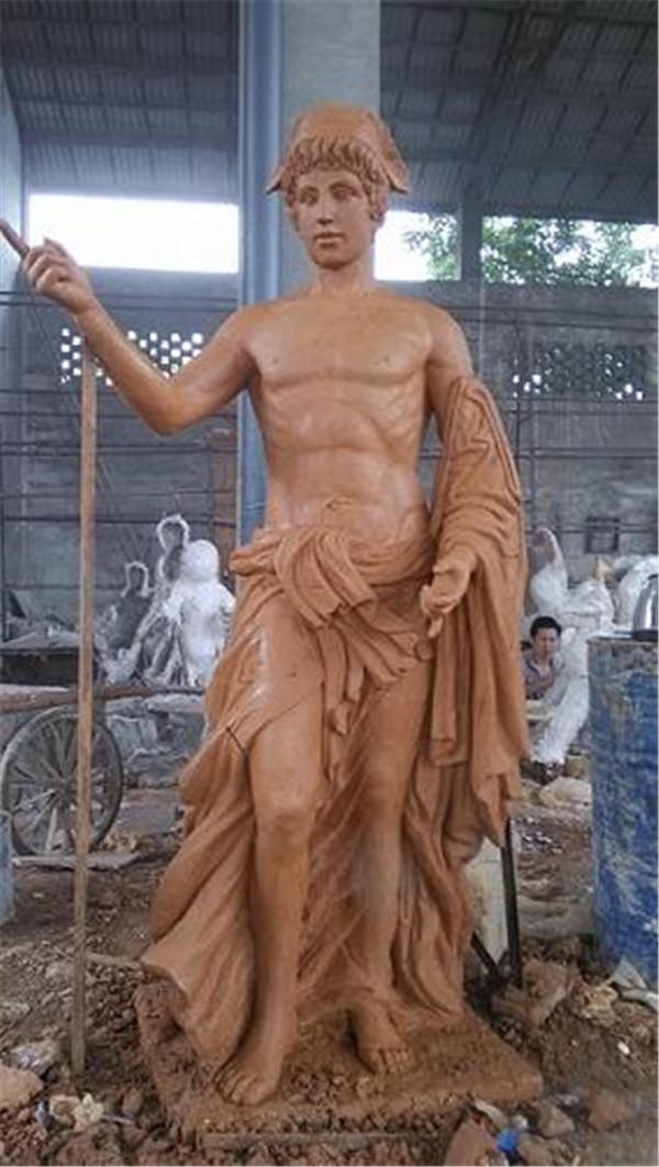 成都泥塑雕像