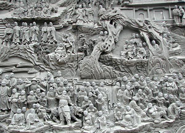 成都石刻浮雕