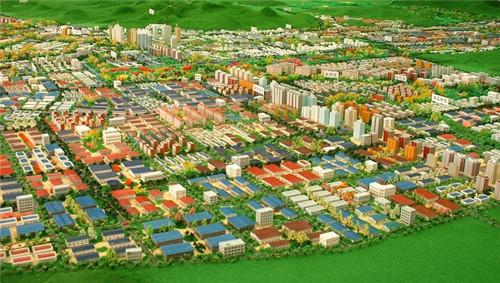 城市規劃建筑模型