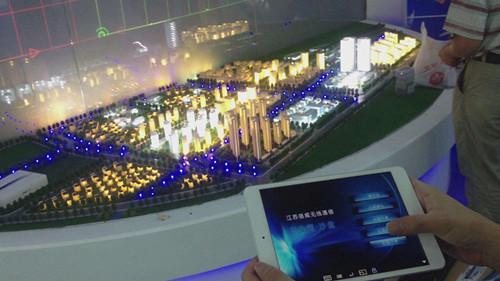 武汉沙盘模型
