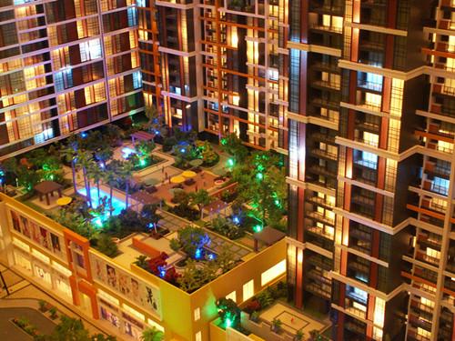 襄阳建筑模型