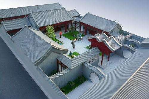 古代建筑模型制作