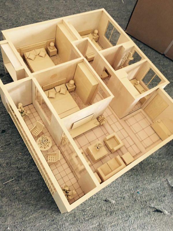 建筑模型设计