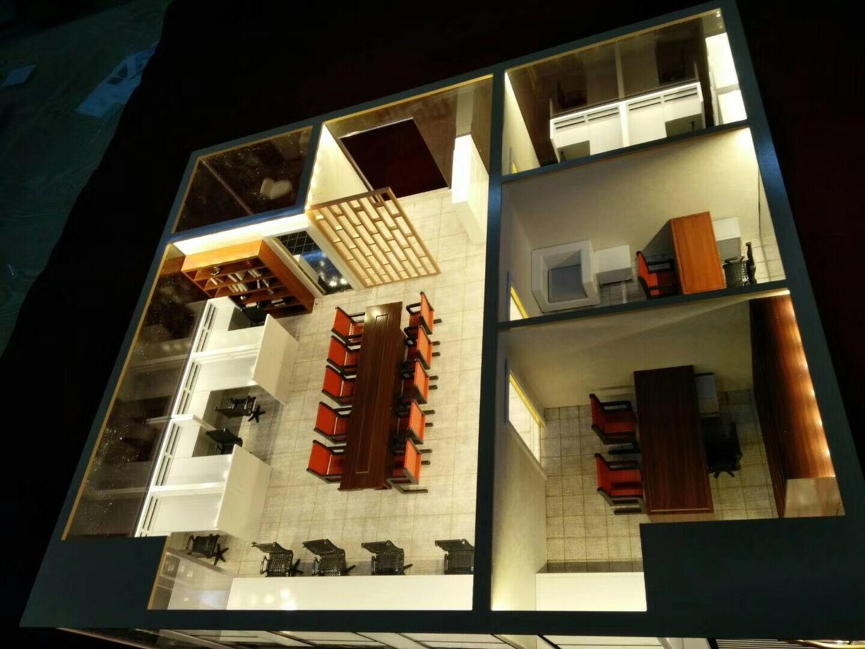 武汉别墅建筑模型