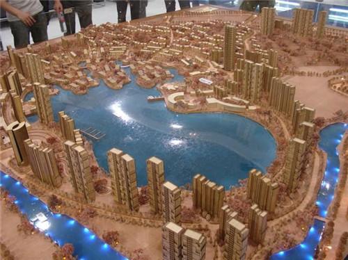 木质建筑模型
