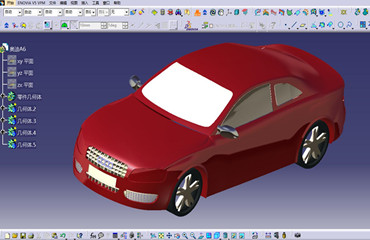 CATIA汽车设计课程学员作品—奥迪