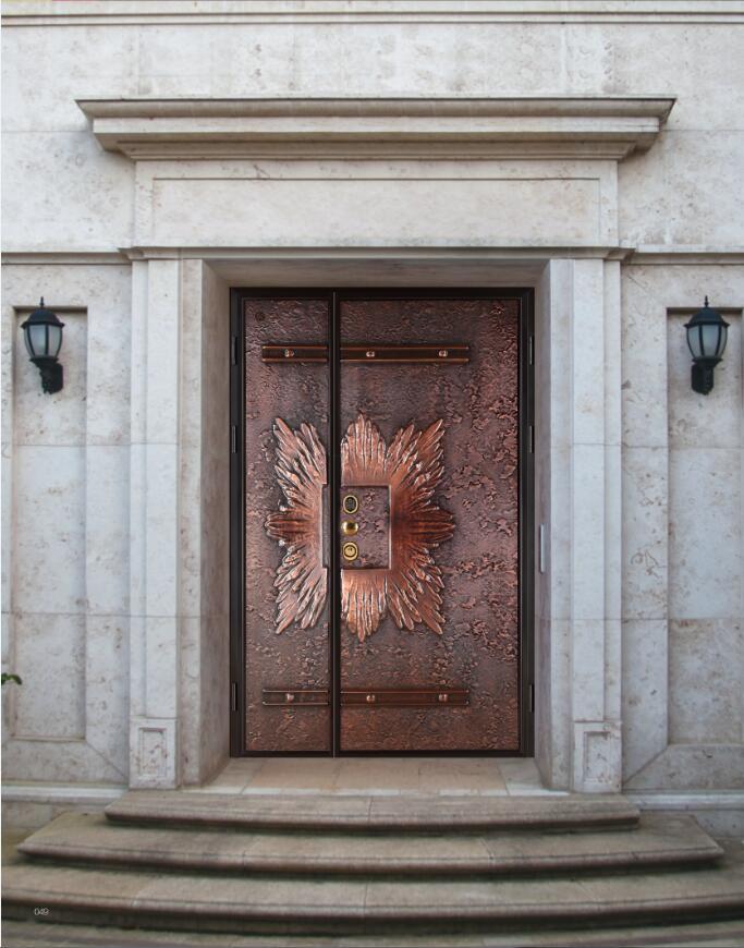 锻铜装甲门
