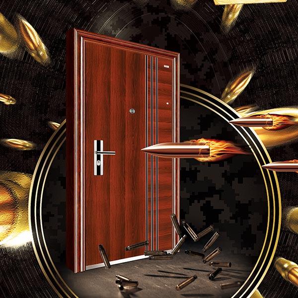 钢质防弹门