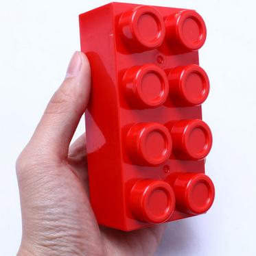 积木大块塑料桶装