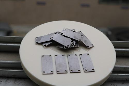 金属配件双面研磨减薄加工