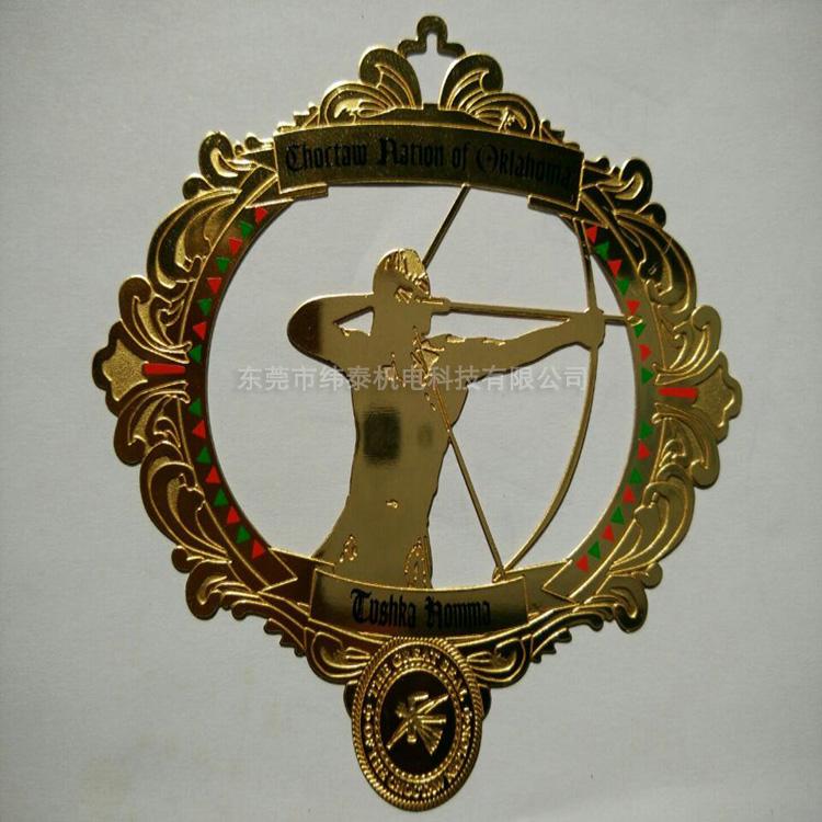 黄铜标牌铭牌镜面抛光加工