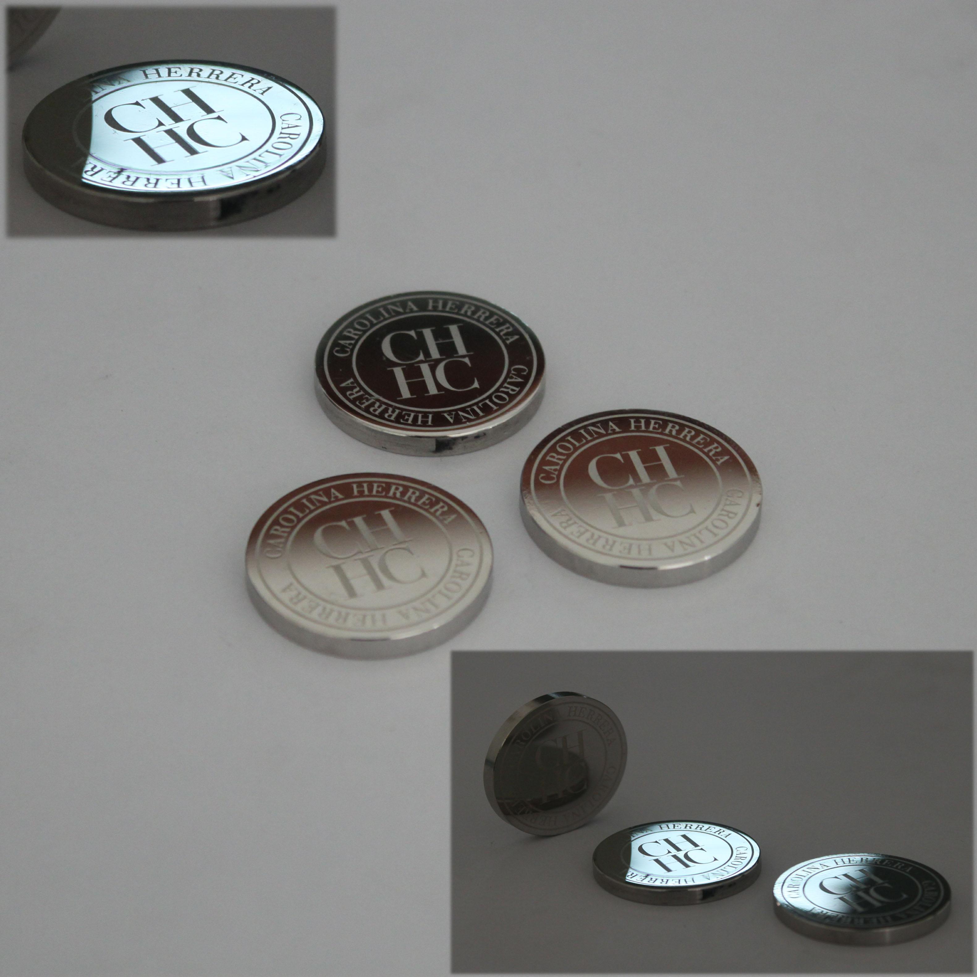 不锈钢logo镜面抛光加工