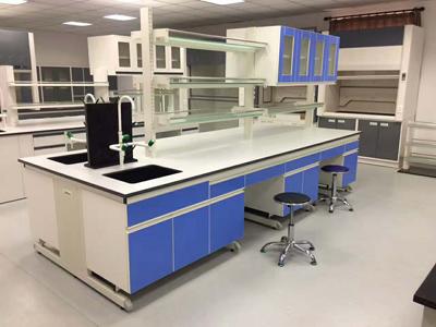 实验室钢木中央台