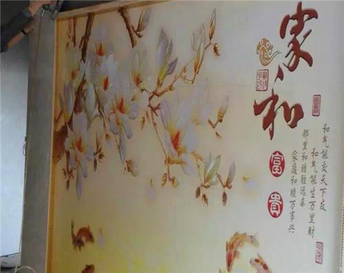 四川3d电视背景墙安装