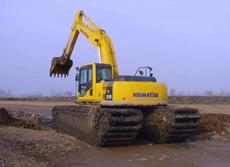 履带式水陆两用挖掘机租赁