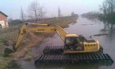 履带式水陆挖掘机租赁
