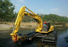 湿地挖掘机租赁服务