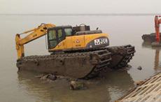 两栖水陆挖掘机租赁