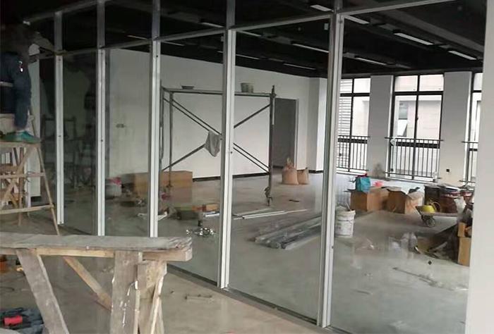 茶园盈讯天地施工框架