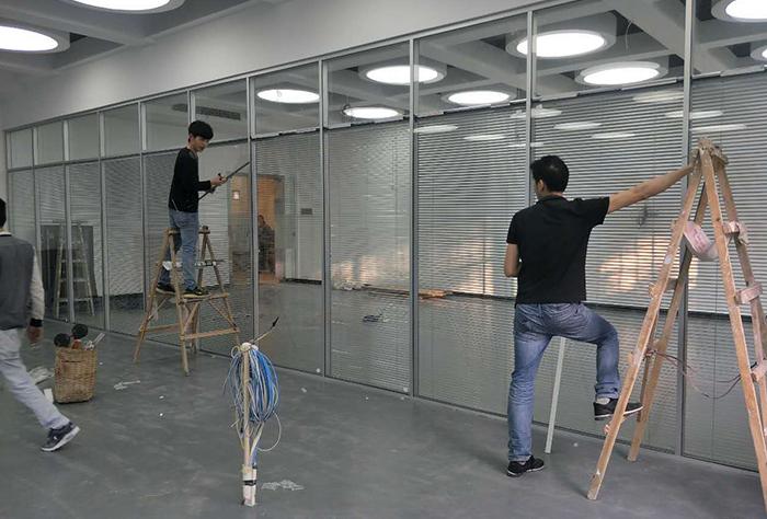 永川大学城市科技学院施工现场