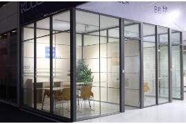 重庆办公玻璃隔断价格