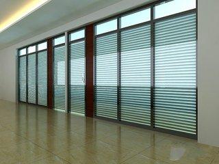 百叶窗隔断玻璃