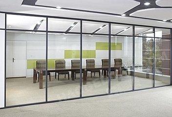 重庆单层玻璃隔断墙价格