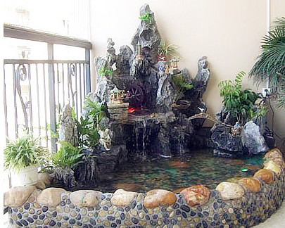 贵阳假山鱼池设计