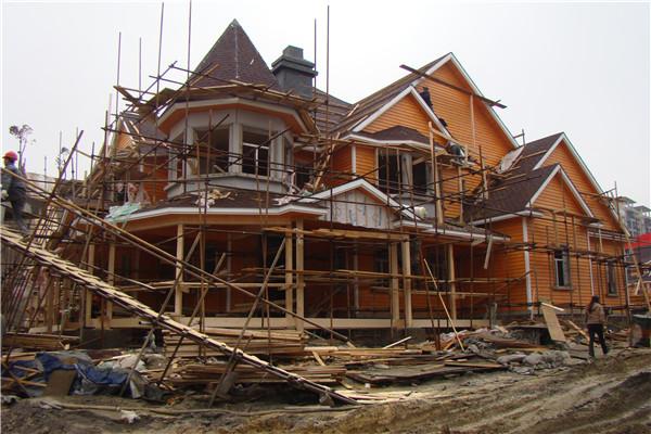 木结构房子