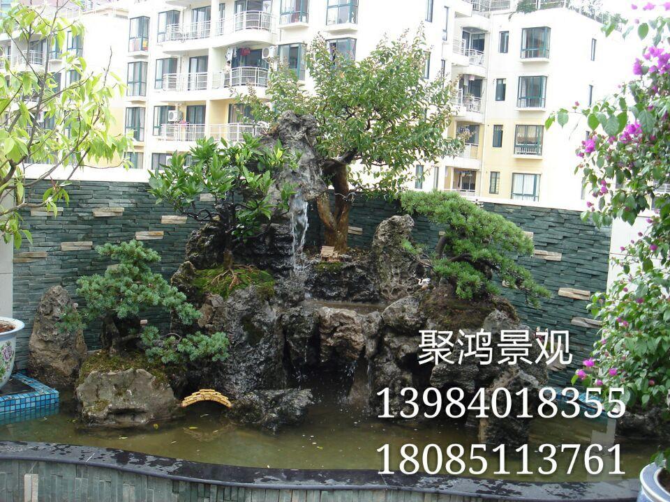 贵州假山鱼池设计