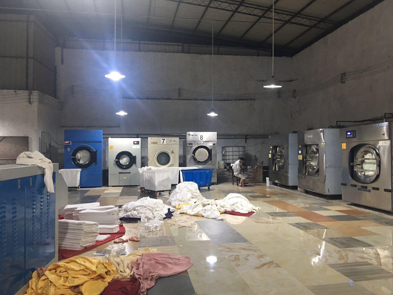 重慶洗衣廠全自動洗脫機