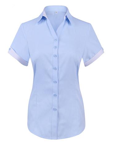 短袖衬衫WD6608