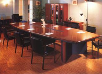 油漆实木会议桌