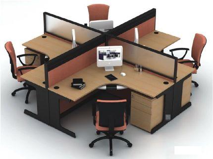 工作位办公组合式办公桌