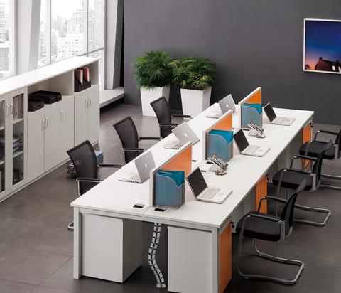 重庆办公家具用品员工组合桌