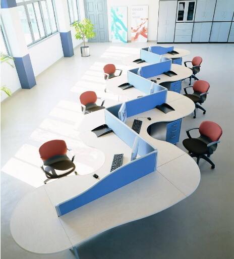 现代室内办公家具