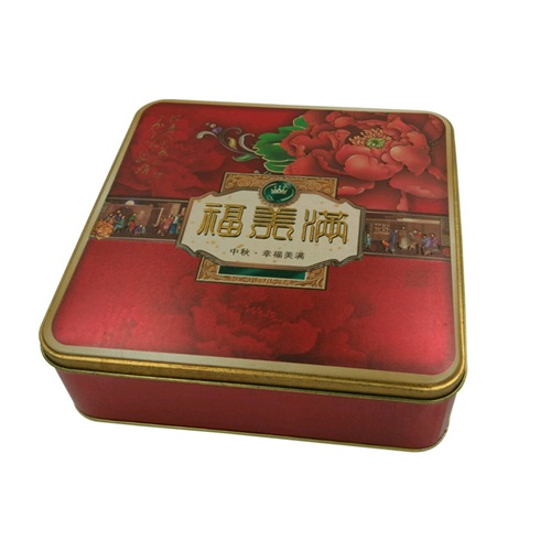 月饼包装铁盒