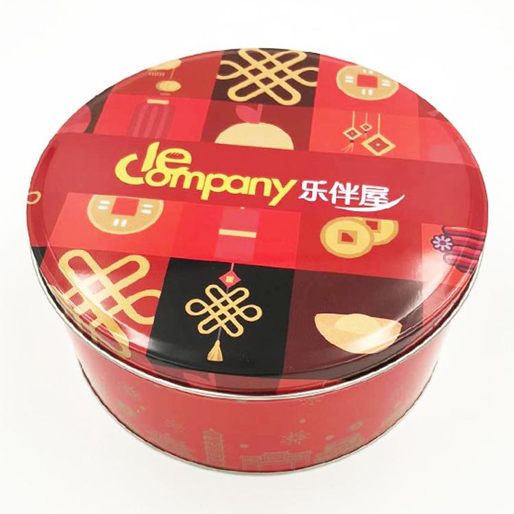 通用圆形铁盒