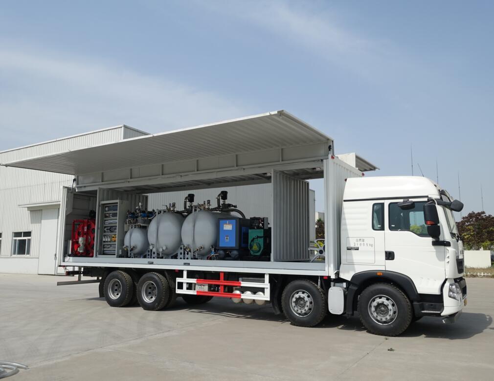 矿山设备换油车