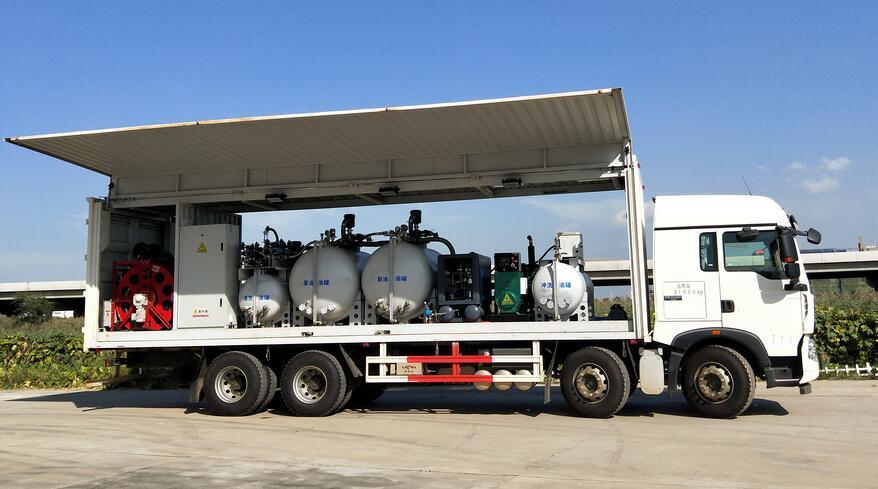 水电工程大型设备换油车