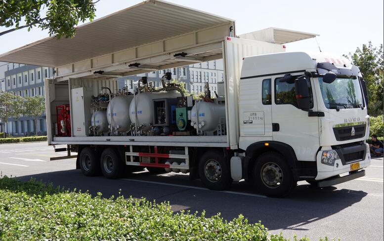 水電工程大型設備換油車