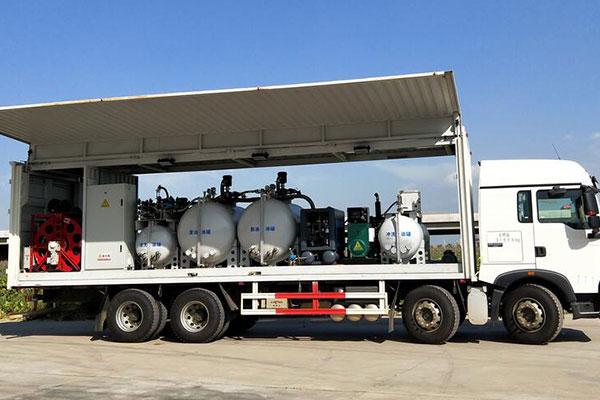 石油設備換油車