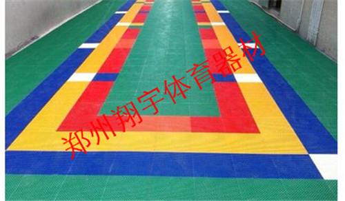 悬浮拼接式地板