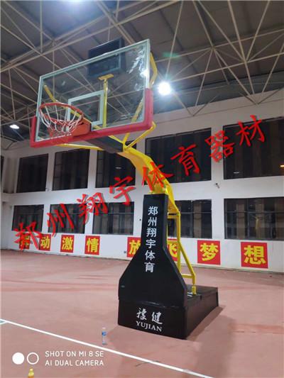 郑州电动液压篮球架厂家