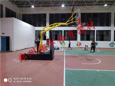 河南电动液压篮球架