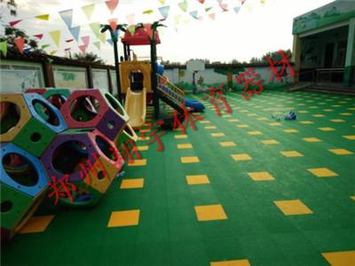 幼儿园悬浮拼装地板
