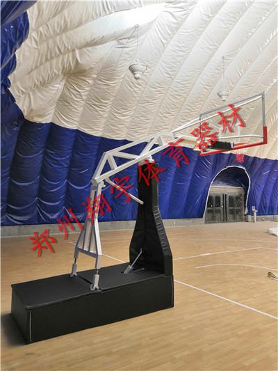手动液压篮球架